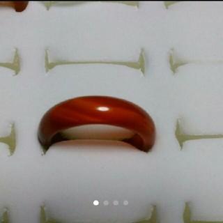 瑪瑙 指輪 15.5号 ②左下2天然石 メノウ(リング(指輪))