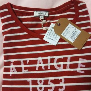 エーグル(AIGLE)のAIGLE エーグル 新品未使用 長袖Tシャツ レディースM(Tシャツ(長袖/七分))