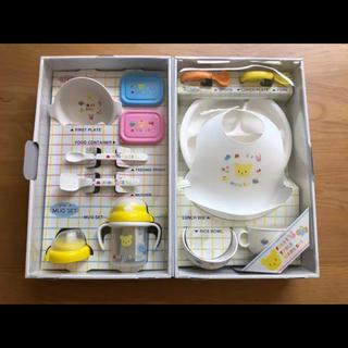 ミキハウス(mikihouse)のミキハウス テーブルウェアセット 新品未使用(離乳食器セット)