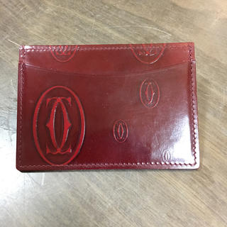 カルティエ(Cartier)のshinoさま専用  カルティエ カードケース(名刺入れ/定期入れ)