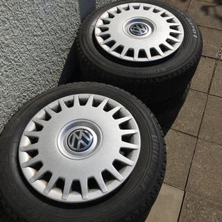 ブリヂストン(BRIDGESTONE)のフォルクスワーゲン ゴルフ用タイヤとホイル4本セット(タイヤ・ホイールセット)
