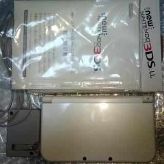 ニンテンドー3DS - New ニンテンドー3DS LL パールホワイト 充電器付き