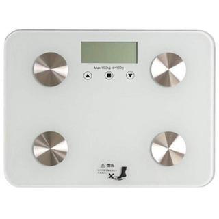 体重・体組成計 超薄型 ヘルスメーター  ¥(体重計/体脂肪計)