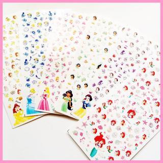 プリンセス ネイル シール 【6枚セット♡新品】ステッカー セルフ(ネイル用品)