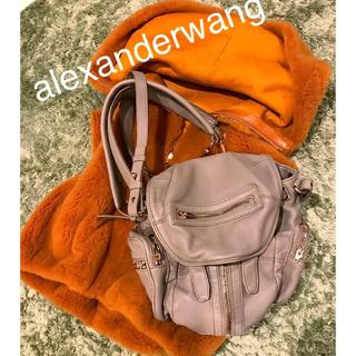 アレキサンダーワン(Alexander Wang)の超美品♡AlexanderWang Martiミニバックパック(リュック/バックパック)