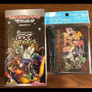 ポケモン(ポケモン)のウルトラシャイニー 1box デッキシールド(Box/デッキ/パック)