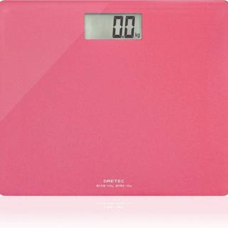 ドリテック 体重計 ボディスケール ピンク  ¥1,950送料込すぐに購入可 商(体重計/体脂肪計)