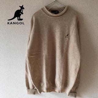 カンゴール(KANGOL)の古着 カンゴール ロゴ刺繍 ボトルネック ニット セーター メンズ(ニット/セーター)