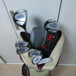 アサヒゴルフ(朝日ゴルフ)のチョコ様専用です。期間限定値下げ!レディース ハーフセット(クラブ)