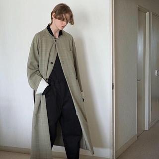 サンシー(SUNSEA)のSUNSEA  Polyys Tweed HERRINGBONE Coat (チェスターコート)