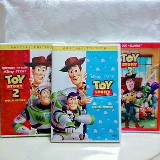 トイ・ストーリー - ディズニー♡ トイ・ストーリー1・2・3  DVDセット  ピクサー