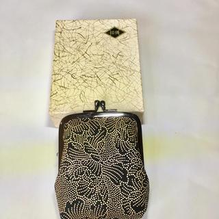 インデンヤ(印傳屋)の未使用 印傳 がま口財布(財布)
