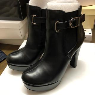 エスペランサ(ESPERANZA)の新品 ♡ エスペランサ サイドゴア ブーツ ショートブーツ ハイヒール(ブーツ)