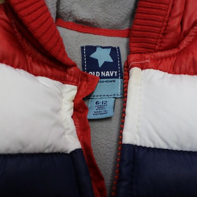 Old Navy(オールドネイビー)の【OLD NAVY】オールドネイビー 中綿ベスト 6-12M ベビー 上着 キッズ/ベビー/マタニティのベビー服(~85cm)(ジャケット/コート)の商品写真