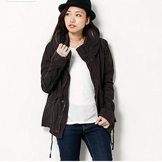 新品⭐️ goa* 綿サテンBIGフードジャケット