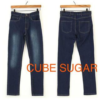キューブシュガー(CUBE SUGAR)の新品 CUBE SUGAR evo キューブシュガー デニム スキニー ジーンズ(デニム/ジーンズ)