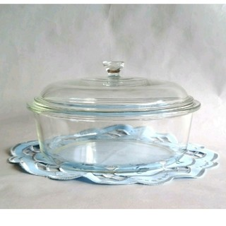 パイレックス(Pyrex)のパイレックス PYREX 耐熱ガラス キャセロール 日本製(容器)