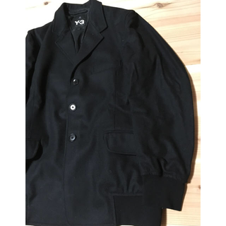 ワイスリー(Y-3)の※お取引き中の商品  Y-3 ウール リブジャケット XS 黒(テーラードジャケット)