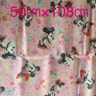 ディズニー(Disney)のミニー 生地 50㎝×108㎝(生地/糸)