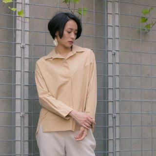 ステュディオス(STUDIOUS)のシカゴオーバーシャツ レディースサイズ0 ベージュ(シャツ/ブラウス(長袖/七分))