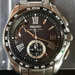 SEIKO - SEIKOブライツソーラーワールドタイム電波時計8B54-0AE0