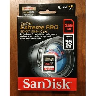 サンディスク(SanDisk)の新品 SanDisk Extreme PRO 256GB SDカード(その他)