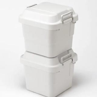 MUJI (無印良品) - 無印良品 ポリプロピレン 頑丈 収納  ボックス 小 2個セット