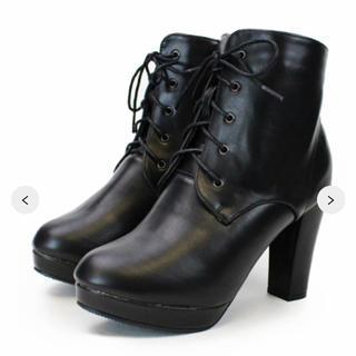 エスペランサ(ESPERANZA)の今期新作♡新品♡csT&P♡レースアップショートブーツ(ブーツ)