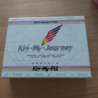 キスマイフットツー(Kis-My-Ft2)のKis-My-journey 初回限定(ミュージック)