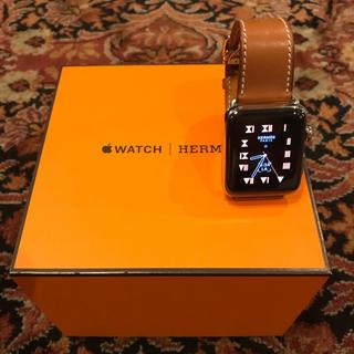 アップルウォッチ(Apple Watch)の万事屋さま専用  Apple Watch 2 42mmシングルレザーバックル(腕時計(デジタル))