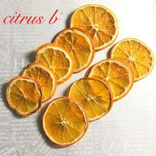citrus b'  & F & 青みかん(ドライフラワー)