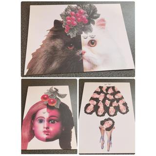 アチャチュムムチャチャ(AHCAHCUM.muchacha)のあちゃちゅむ ポストカード 7枚300円 (写真/ポストカード)