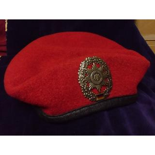 BW/ドイツ軍・連邦軍*陸軍・野戦憲兵*ベレー帽*58cm(実物)(戦闘服)