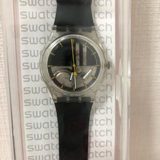 スウォッチ(swatch)の未使用品 スウォッチ腕時計 ブラック(腕時計)