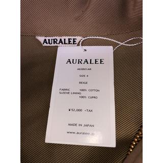 コモリ(COMOLI)のAURALEE Moleskin M51 Jacket(ミリタリージャケット)