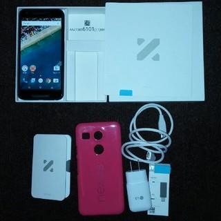 エルジーエレクトロニクス(LG Electronics)のNEXUS5x 16gb白 simフリー(スマートフォン本体)