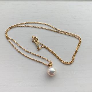 ミキモト(MIKIMOTO)のミキモト k18 ネックレス(ネックレス)