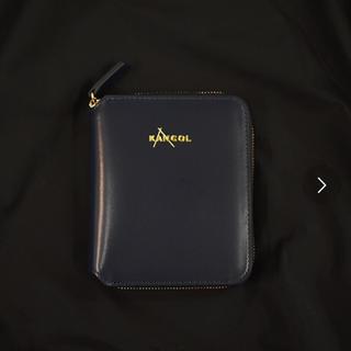 カンゴール(KANGOL)のKANGOL ショートウォレット ブラック(財布)