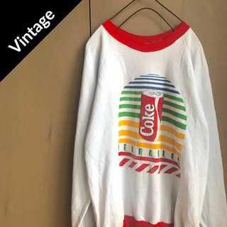 コカコーラ(コカ・コーラ)のヴィンテージ 【1985-87's】 USA製 コカコーラ スウェット(スウェット)