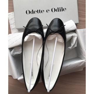 オデットエオディール(Odette e Odile)の使用1回♡美品♡23.5バレーシューズ♡(バレエシューズ)