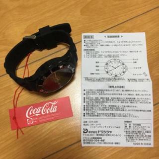 コカコーラ(コカ・コーラ)のコカコーラ♡新品 腕時計♡(腕時計(アナログ))