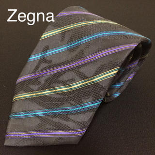 エルメネジルドゼニア(Ermenegildo Zegna)の Ermenegild Zegna エルメネジルドゼニア シルクネクタイ②(ネクタイ)