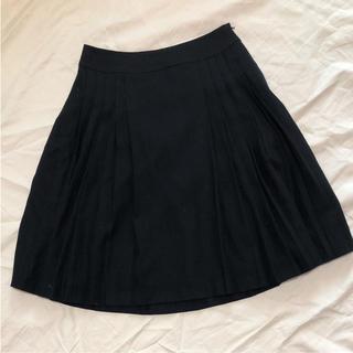 アナイ(ANAYI)のANAYI アナイ 膝丈 プリーツスカート 38(ひざ丈スカート)