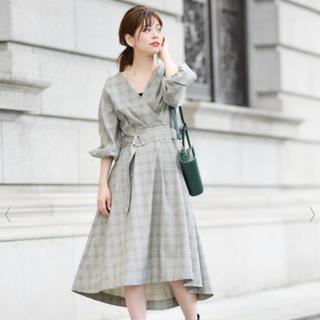 ナチュラルクチュール(natural couture)のnatural couture チェックワンピース(ひざ丈ワンピース)