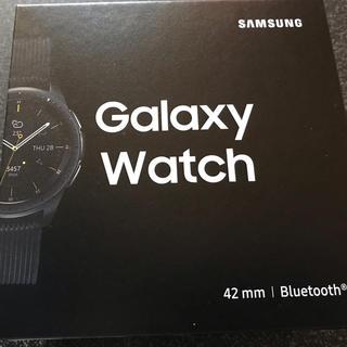 サムスン(SAMSUNG)のgalaxy watch 42mm (腕時計(デジタル))