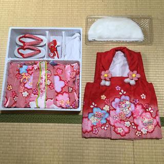 【美品】3歳 七五三 着物セット(和服/着物)