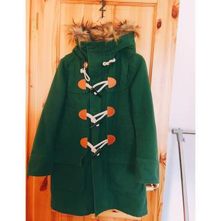 アールエヌエーエヌ(RNA-N)の【RN-N】【2、3回着用】緑のコート(ダッフルコート)
