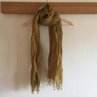 ムジルシリョウヒン(MUJI (無印良品))のカシミヤストール(ストール/パシュミナ)