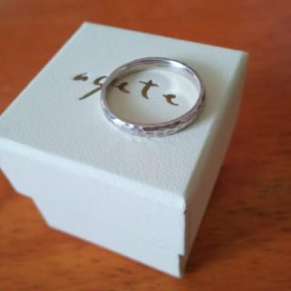 アガット(agete)のアガット シルバーリング メンズ(リング(指輪))