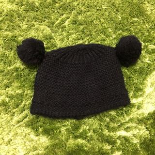 スピンズ(SPINNS)のミッキー風ニット帽(ニット帽/ビーニー)